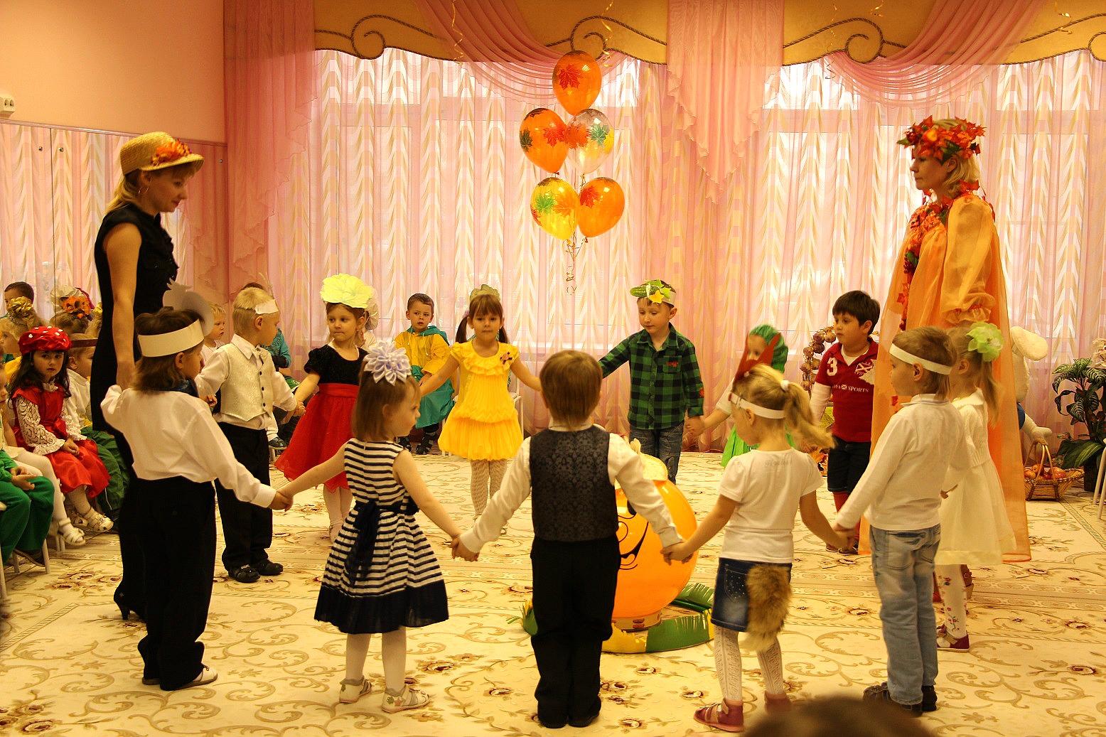 Сценарий осеннего праздника для младших групп
